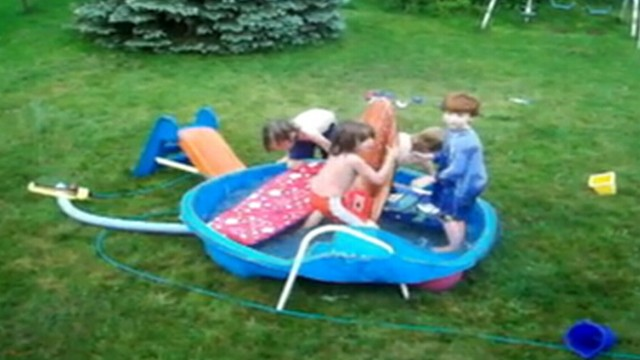VIDEO: Researchers found that 209 children drowned in portable pools from 2001 to 2009.