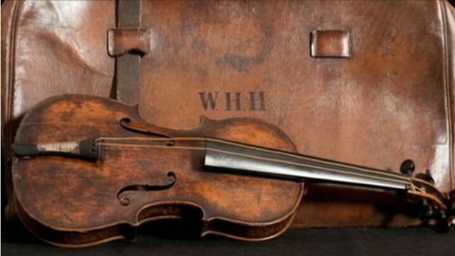VIDEO: Violin played on the Titanic was found in an attic in England.
