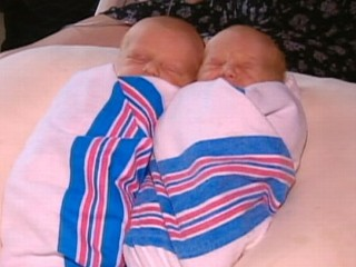 Watch: Twins Born on Different New York Highways