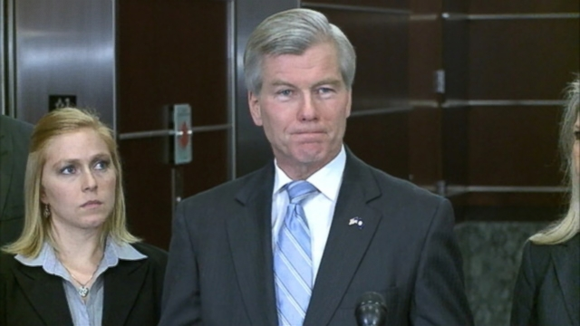 VIDEO: Bob McDonnell says he returned more than $120,000 in gifts to businessman Jonnie Williams.