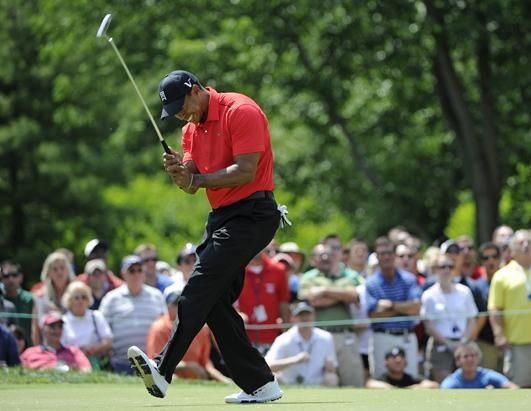 Tiger Woods Plays Worst Round Ever