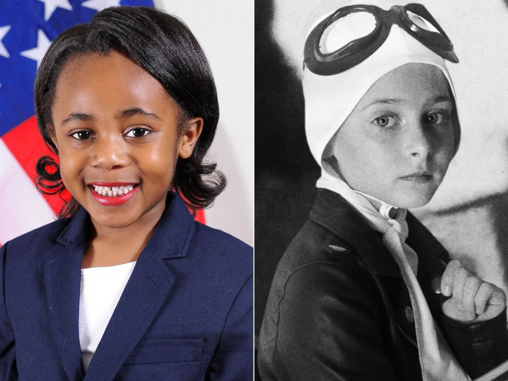 PHOTO: 11 young Girl Scouts were styled as iconic women leaders, including Whoopi Goldberg and Hillary Clinton, in honor of Womens History Month.
