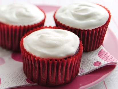 Hungry Girl's Red Velvet Insanity Cupcakes