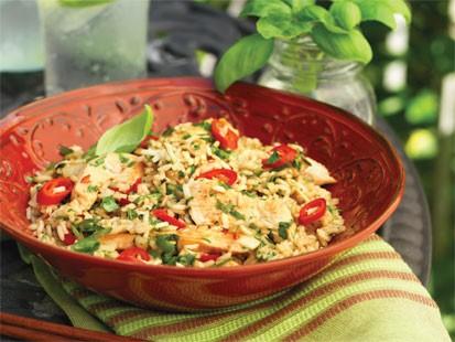 Tosca Renos Thai Basil Chicken Fried Rice