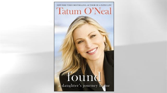 "PHOTO: Tatum O'Neal's Book, ""Found.. a Daughter's Journey Home."""