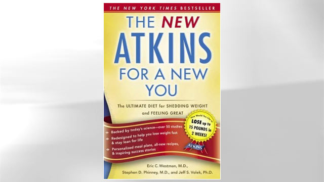 PHOTO:Atkins Diet book jacket.