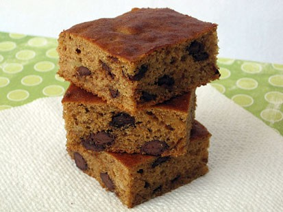 PHOTO: Amy Greens Banana Carob Snack Cake