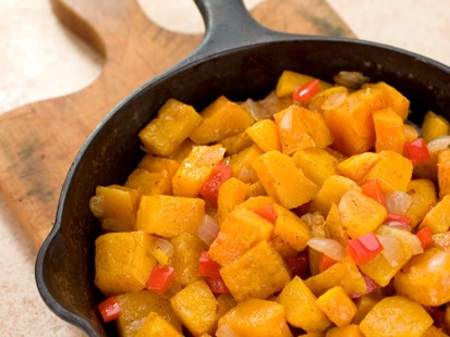 Hungry Girl's Yummy Butternut Home Fries