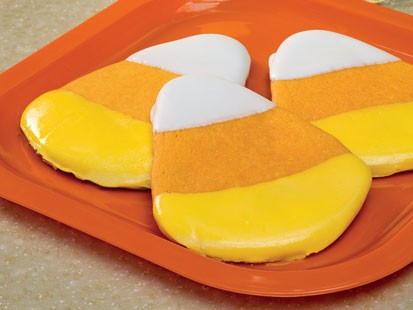 SANDRA LEE?S CANDY CORN COOKIES
