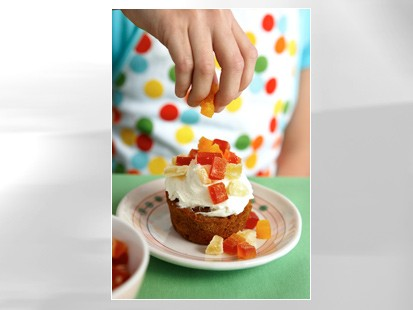 PHOTO Carrot cake cupcakes are shown in this file photo.