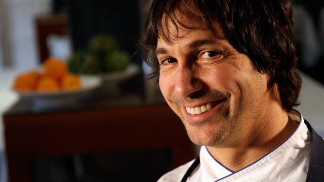 PHOTO: Chef Ken Oringer from Clio prepares some special dishes for Nightline's platelist.