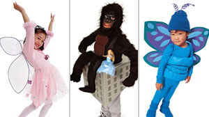 Photo: Costumes from Disney FamilyFun Magazine: as seen in the October issue, Halloween Special Edition, and FamilyFun.com