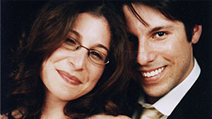Photo: Interfaith marriage and divorce: Joseph and Rebecca Reyes