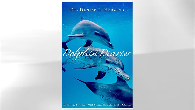 "PHOTO: Shown here is ""In Dolphin Diaries: My Twenty-Five Years with Spotted Dolphins in the Bahamas"" book cover."