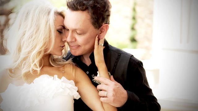 PHOTO:&nbsp;Doug Hutchison and Courtney Stodden wedding photo.