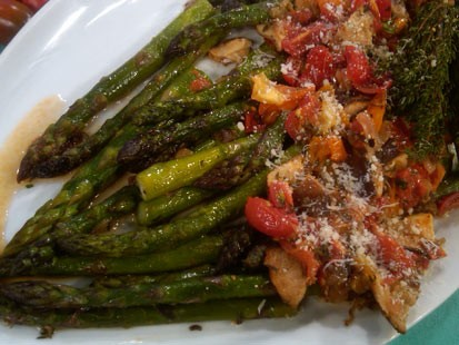 PHOTO:??Emeril?s Pan-Roasted Asparagus