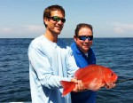 "PHOTO: Emeril Lagasse goes fishing in Destin, Florida for ""Good Morning America."""