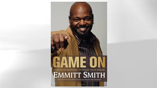 "PHOTO: Cover of Emmit Smith's book ""Game On."""