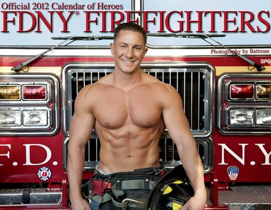 Mr december charles mollica heats up the cover of the fdny official