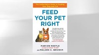PHOTO The book &quot;Feed Your Pet Right&quot; by Marion Nestle and Malden C. Nesheim is shown.