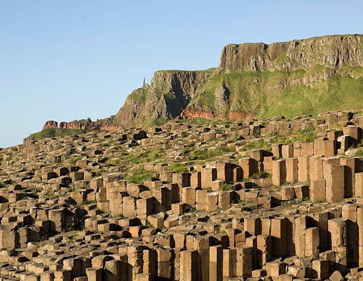 Northern Ireland's The Giant's Causeway Spectacular Rock Formation Inspires Legend