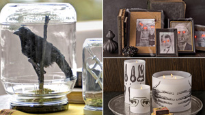 PHOTO Country Living magazine shares tips on smart and spooky decorations for your home this Halloween.