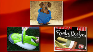 Photo: Snuggie for Dogs, Garden Groom, Fasta Pasta on GMA