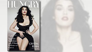 Photo: Book Cover: Hungry: A Young Models Story of Appetite, Ambition and the Ultimate Embrace of Curves