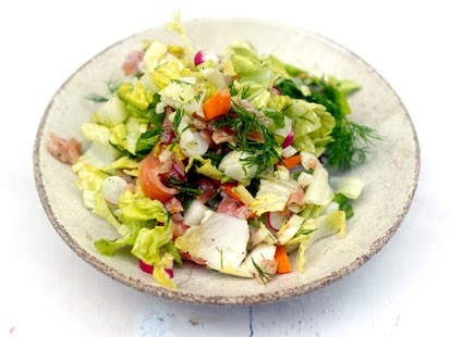 Jaime Oliver's Everyday Chopped Green Salad