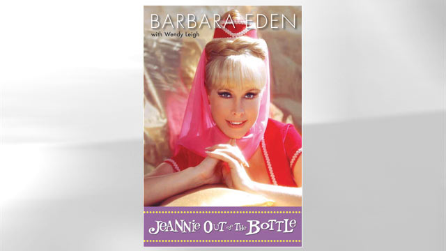 "PHOTO The cover for the book ""Jeannie Out of the Bottle"" is shown."