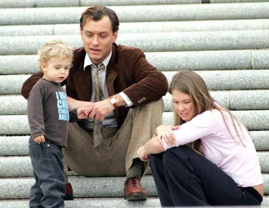 Jude Law, nanny