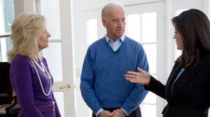Juju Chang with Joe Biden and Dr. Jill Biden