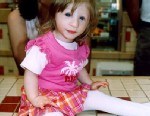 PHOTO Kenadie Jourdin-Bromley has an extremely rare form of dwarfism classified as primordial dwarfism