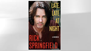 "PHOTO The book ""Late, Late at Night,"" by Rick Springfield is shown in this file photo."