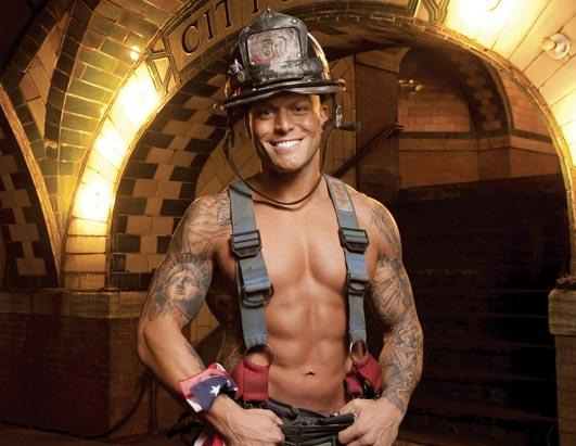 Firefighters Sizzle in 2011 Calendar