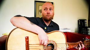 PHOTO: Sad Man, Happy Man, Busy Man - Mike Doughty contributes his three words to GMA