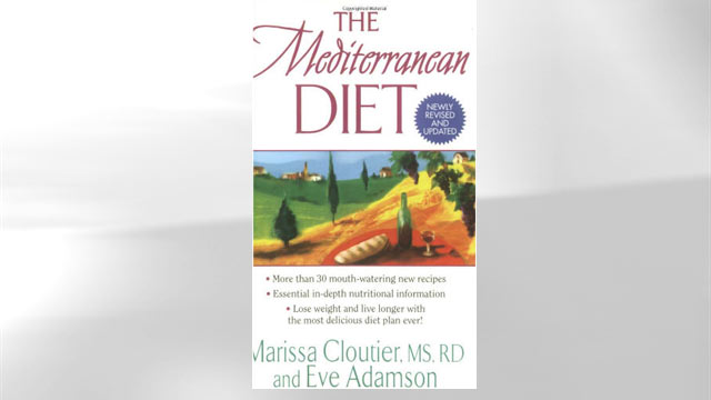 PHOTO:Mediterranean Diet book jacket.