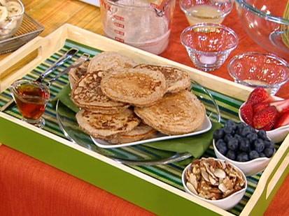 Reed Alexanders oatmeal pancakes