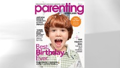 PHOTO:Seen her is the cover of Parenting magazine.