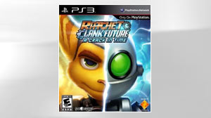 "PHOTO The game ""Ratchet & Clank Future: A Crack In Time"" is shown."
