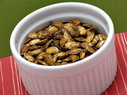 PHOTO: Amy Greens Roasted Pumpkin Seeds