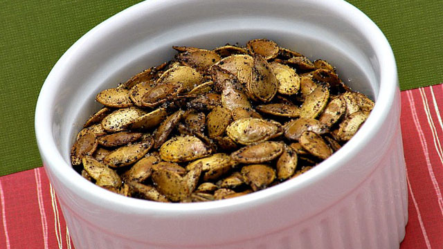 PHOTO:Amy Green's Roasted Pumpkin Seeds