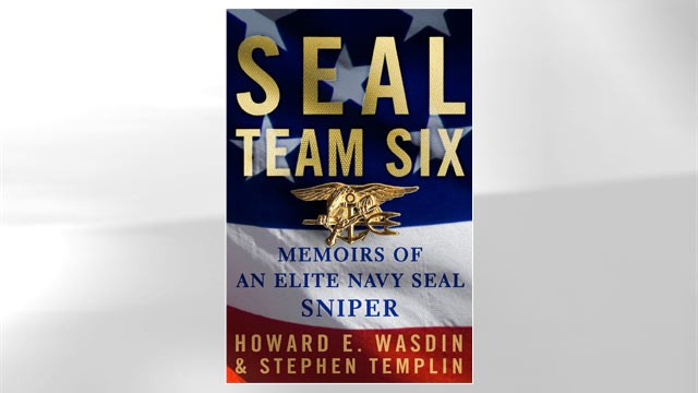 PHOTO: Book jacket cover of Howard Wasdin's book, 'Seal Team Six.'