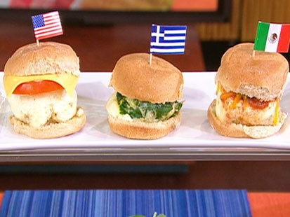 Reed Alexander's breakfast sliders.
