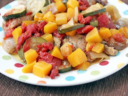 Erin Chase's Slow Cooker Mango Chicken