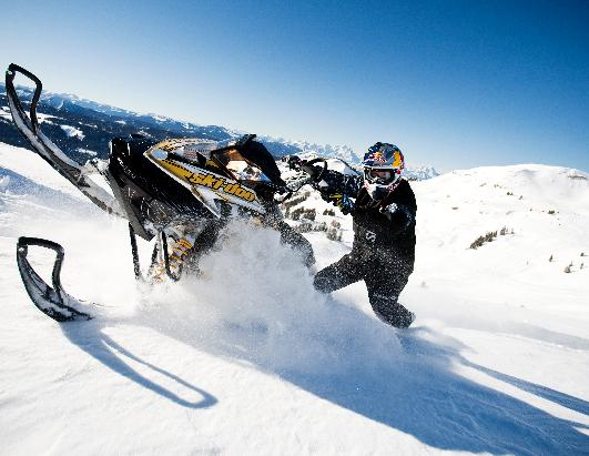 Weekend Adventure: Snowmobiling