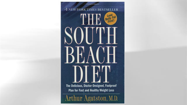 PHOTO:South Beach Diet book jacket.