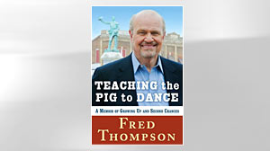 Photo: Book Cover: Teaching the Pig to Dance: A Memoir of Growing Up and Second Chances