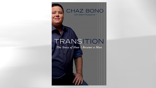 "PHOTO: Chaz Bonos book ""Transition"""