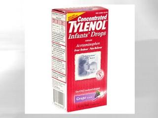 Recall tylenol baby is still on